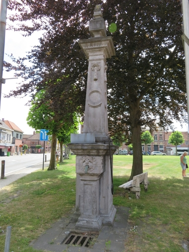 Sint-Gillis-Waas Sint-Pauwels Dries zonder nummer waterpomp