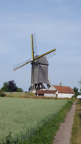 Windmolen Meuleken 't Dal met molenaarswoning