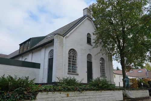Sint-Martens-Latem Dorpsstraat 28 Gemeenteschool en onderwijzerswoning