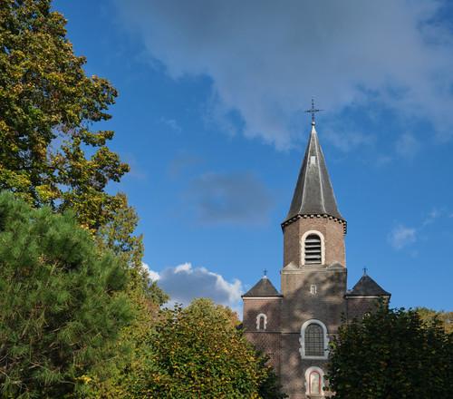 Sint-Martens-Latem Dorpsstraat zonder nummer parochiekerk Sint-Aldegonde
