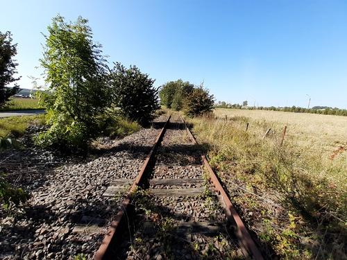 Spoorwegbedding lijn 85 Leupegem-Spiere