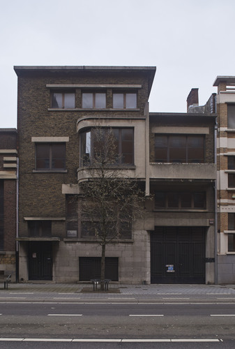 Stadswoning naar ontwerp van Huib Hoste