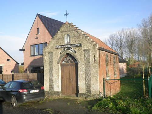 Beveren Kallo Beverse Dijk 38 kapel