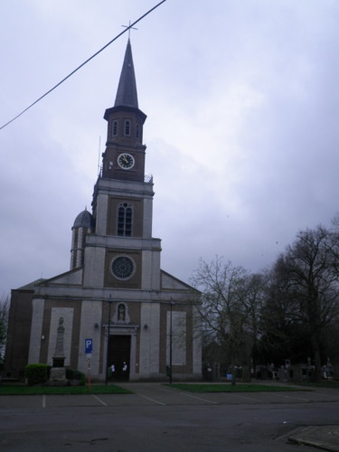 Beveren Doel Hooghuisstraat parochiekerk Onze-Lieve-Vrouw-Hemelvaart