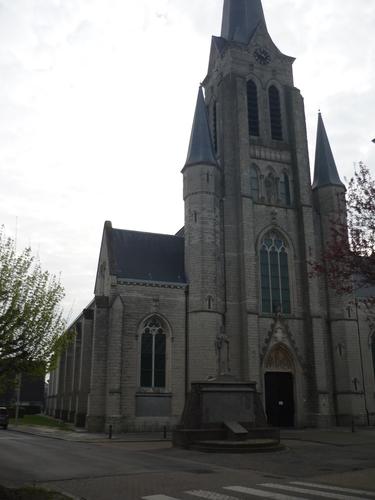 Beveren Haasdonk Keizerstraat parochiekerk Sint-Jacobus de Meerdere