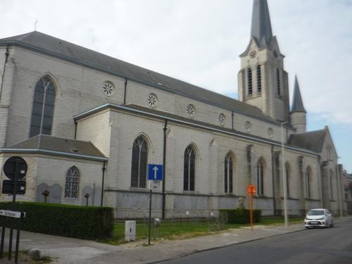 Beveren Haasdonk Keizerstraat 1 parochiekerk Sint-Jacobus de Meerdere
