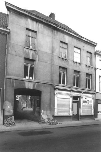 Oudenaarde Baarstraat 49 doorgang naar Baarzak B