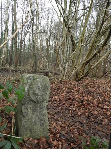 Twee grenspalen van de kuip van Leuven