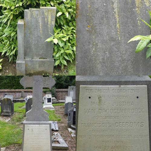 Parochiekerk Onze-Lieve-Vrouw met ommuurd kerkhof