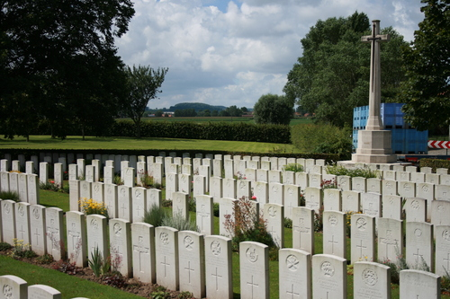 Dickebusch New Military Cemetery Extension
