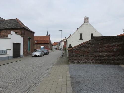 Anzegem Juliaan Claerhoutstraat straatbeeld