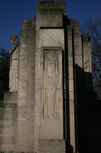 Oorlogsgedenkteken Geallieerden Westerbegraafplaats