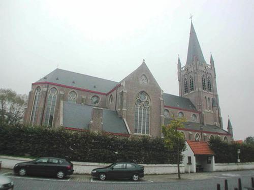 Jabbeke Dorpsstraat 11A kerk