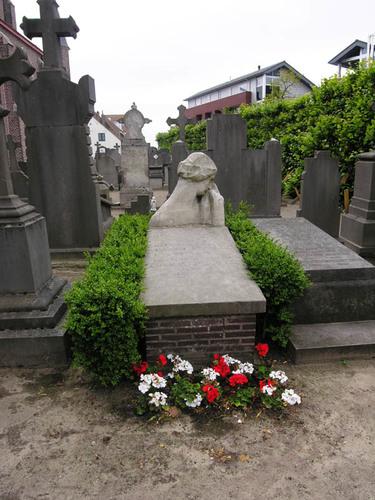 Jabbeke Dorpsstraat 11A kerk graf Permeke