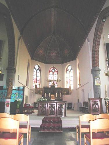 Jabbeke Oude Dorpsweg 75 Koor in de kerk