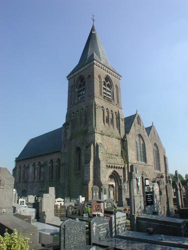 Jabbeke Vedastusstraat 69 kerk toren