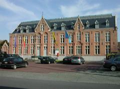 Nationale Gendarmerie en Gemeentehuis van Beernem
