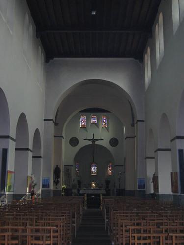 Wielsbeke St.-Bavostraat zonder nummer Interieur van de Sint-Bavokerk