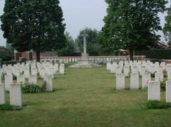 Britse militaire begraafplaats Vichte Military Cemetery