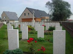 Britse militaire begraafplaats Ingoyghem Military Cemetery